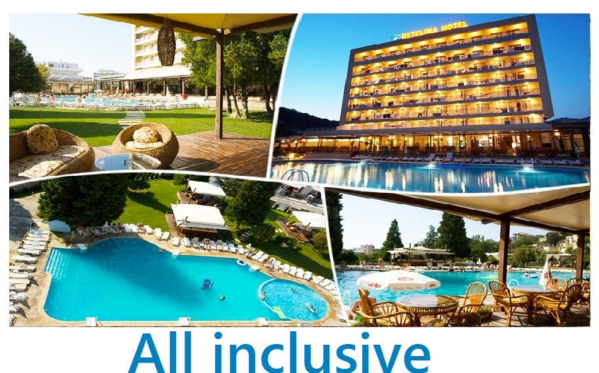 All inclusive в Хотел Детелина, Златни Пясъци